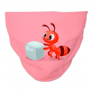 Mascarilla Higiénica Reutilizable abeja-28