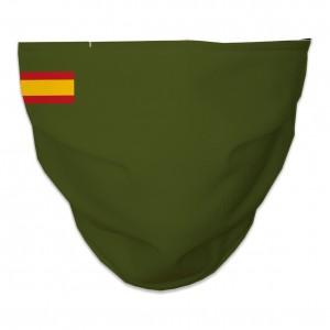 Mascarilla Higiénica Reutilizable bandera españa verde