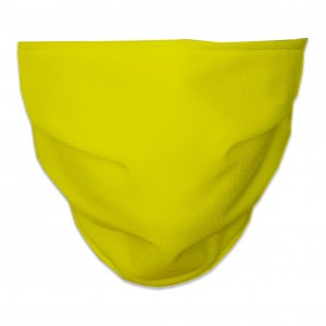 Mascarilla Higiénica Reutilizable lisa amarilla
