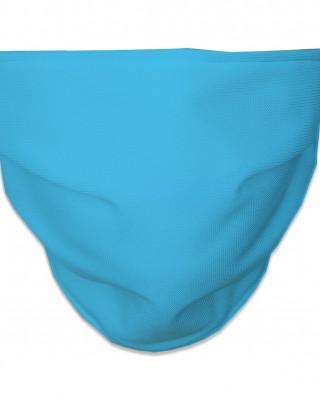 Mascarilla Higiénica Reutilizable lisa azul