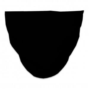 Mascarilla Higiénica Reutilizable lisa negra
