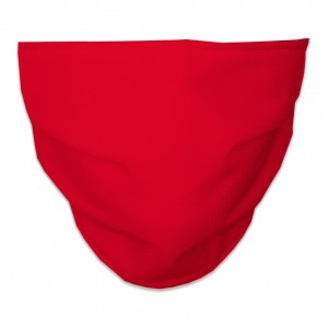 Mascarilla Higiénica Reutilizable lisa roja