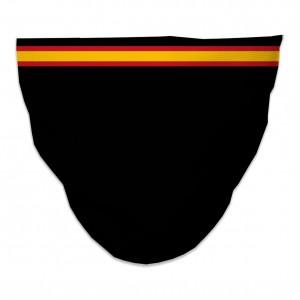 Mascarilla Higiénica Reutilizable bandera-horizontal-negra