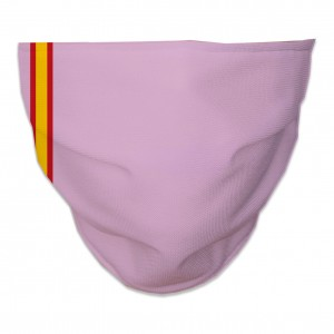 Mascarilla Higiénica Reutilizable bandera-fina-rosa
